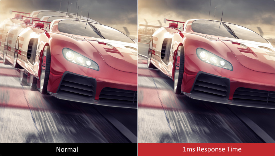 1ms Response Time pc