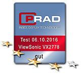 TESTBERICHT: ViewSonic VX2778-smhd