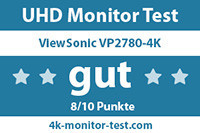ViewSonic VP2780-4K Test