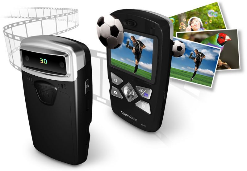 ViewSonic Draagbare multimedia 3DV5