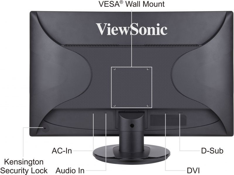 ViewSonic LED Display VA2046m-LED