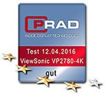 """PRAD """"Good"""" VP2780"""