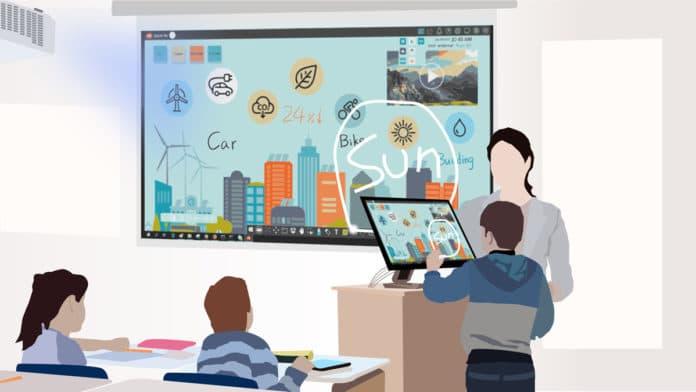 interactive classroom displays