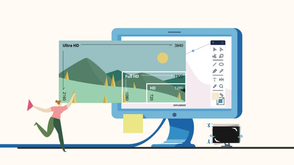 Choosing a High-Resolution Graphic Design Monitor