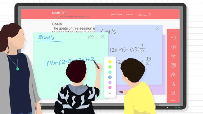 online & virtual whiteboards - 3 Bett speakers