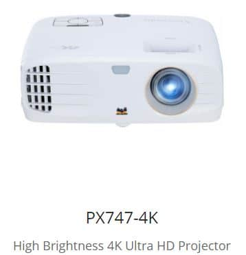 PX747-4K -  - A Projector for Home Entertainment