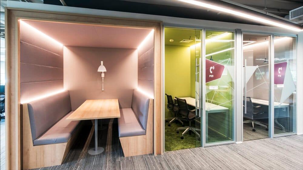 Quiet-Zone-Workspace-Design