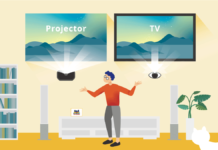 Projector Vs TV: Consideration to Eye Health