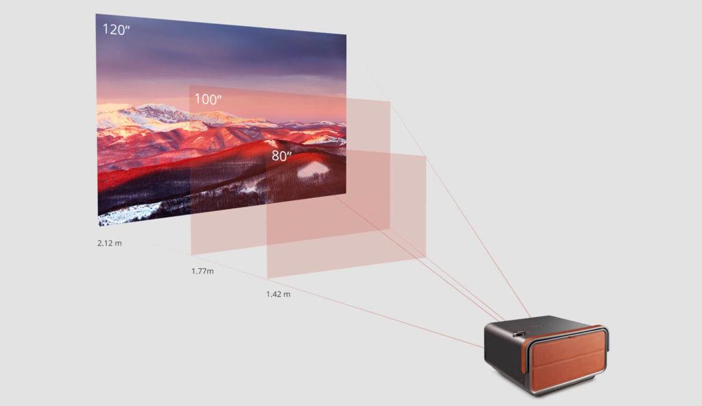 Short-Throw-Smart-Projector