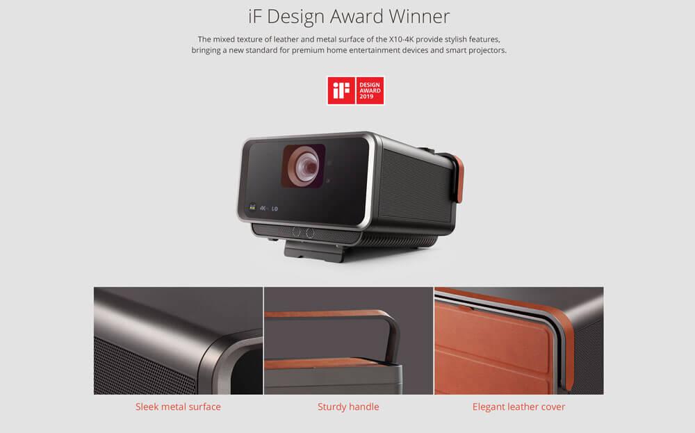 Ventaja del proyector inteligente: portabilidad