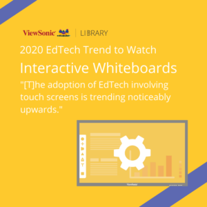 2020 EdTech Trends - Interactive Whiteboards