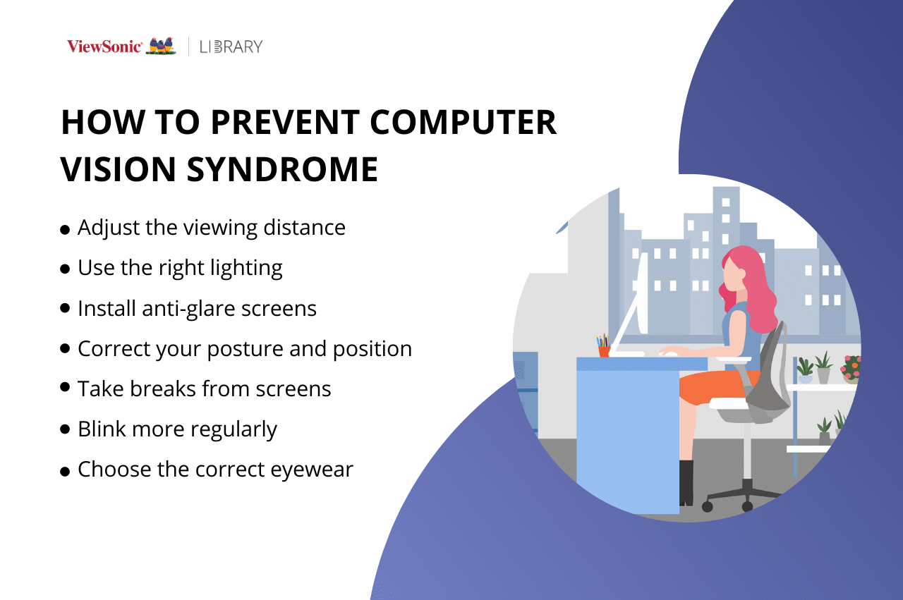 Computer Vision Syndrome - How to Prevent Computer Visions Syndrome