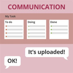 Working at Home Tips - Set up Good Communication