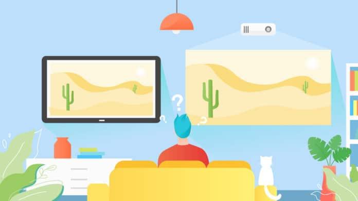 TVs vs Projectors - HERO IMAGE