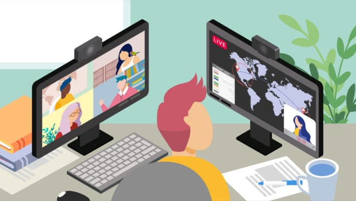 Videoconferencing vs Live Streaming for Distance Learning