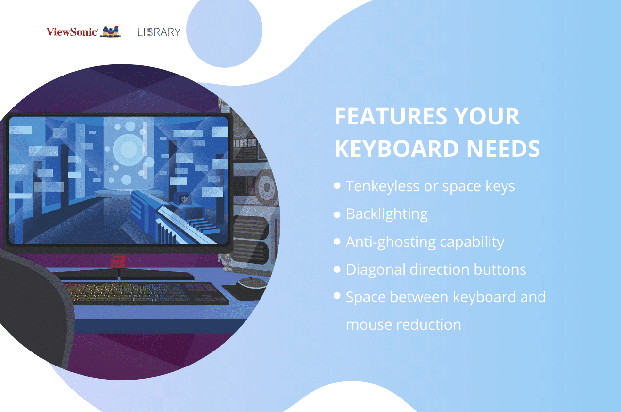 Esports keyboard - Features your keyboard needs