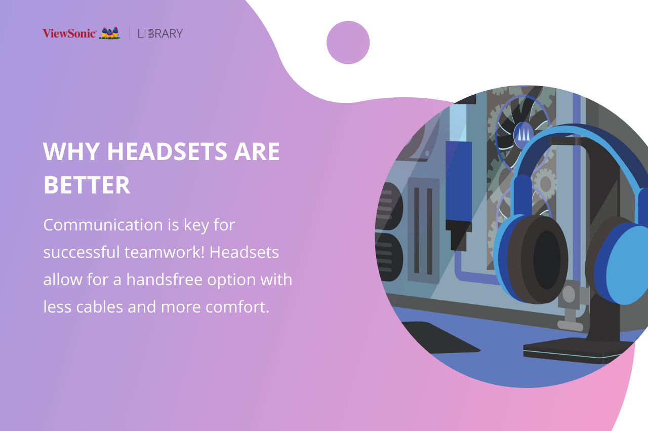 choosing the best esports headset - headsets for communication