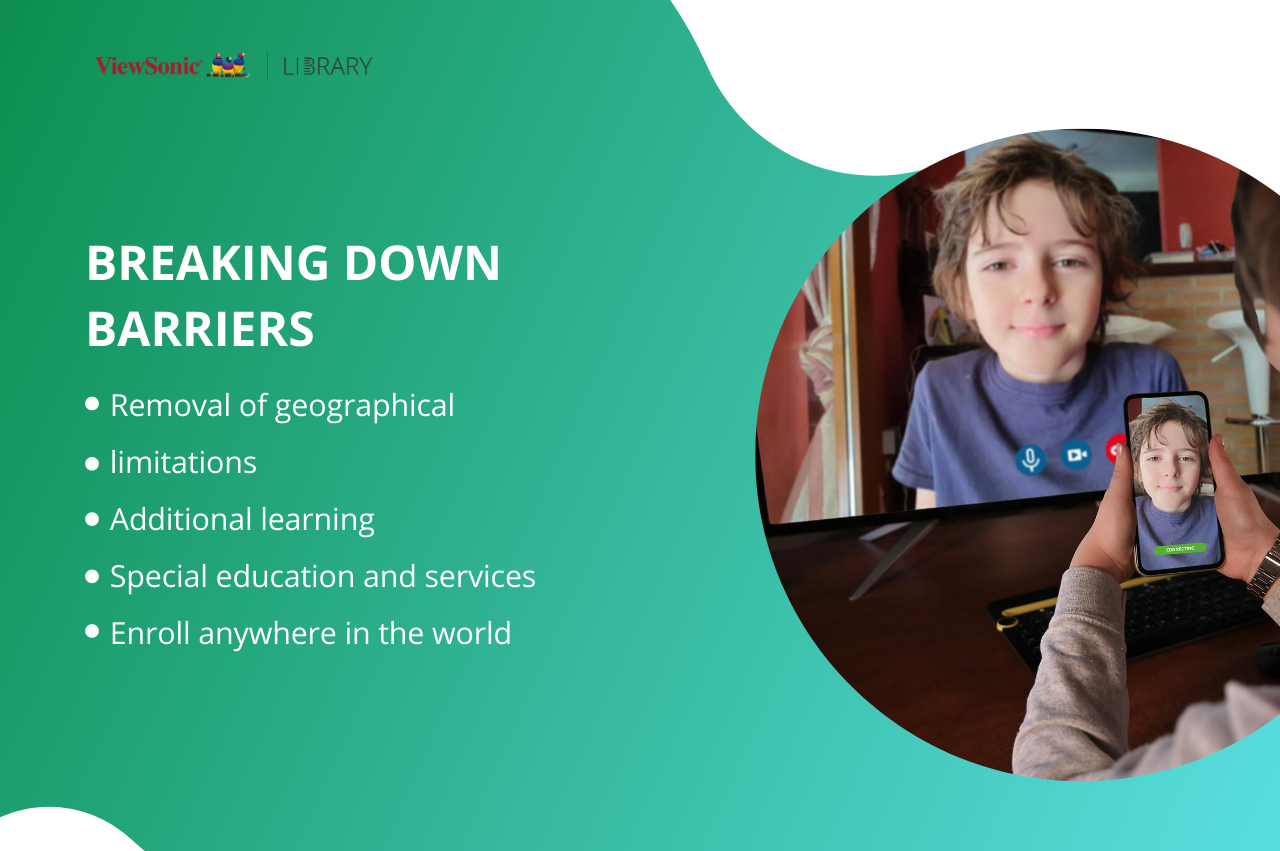 Advantages of Distance Education - breaking down barrier