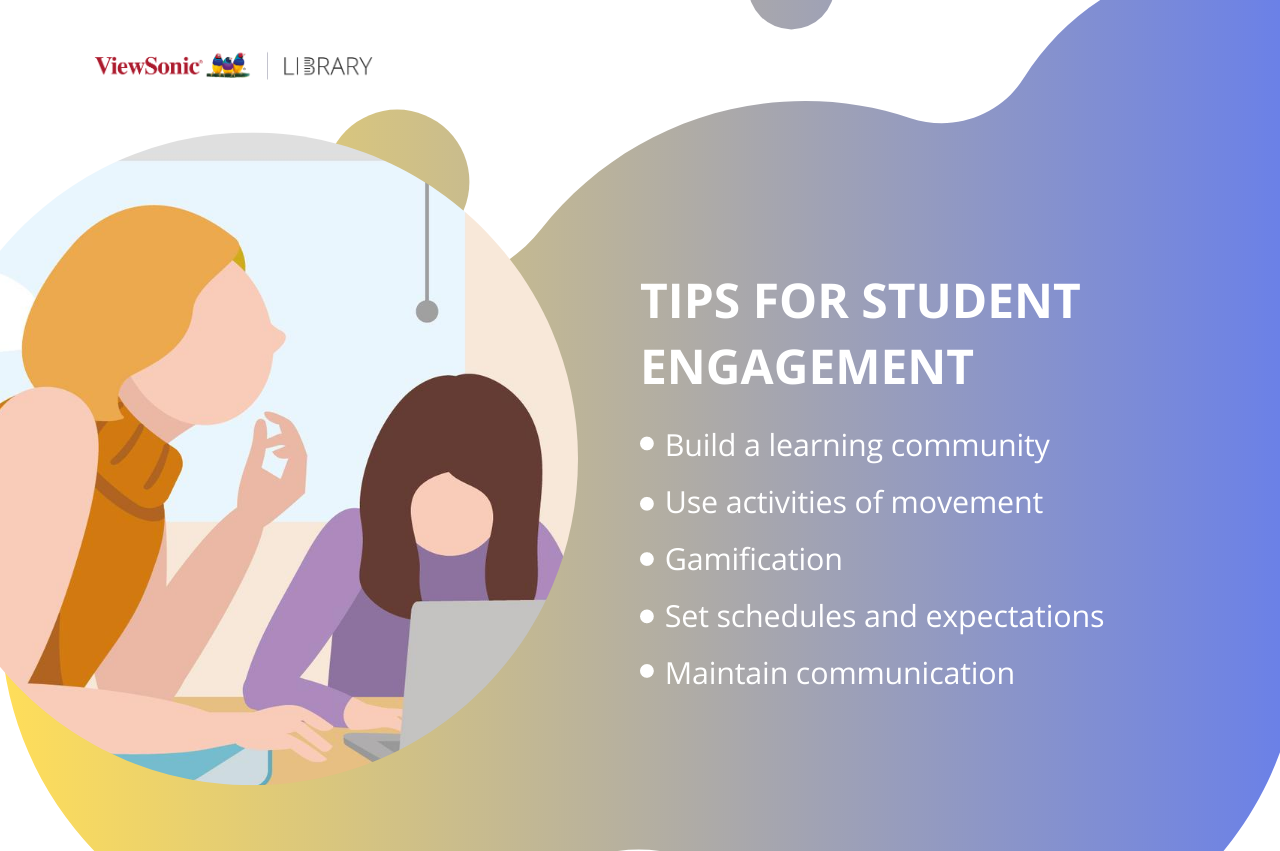 Maintaining student engagement - tips for engagement