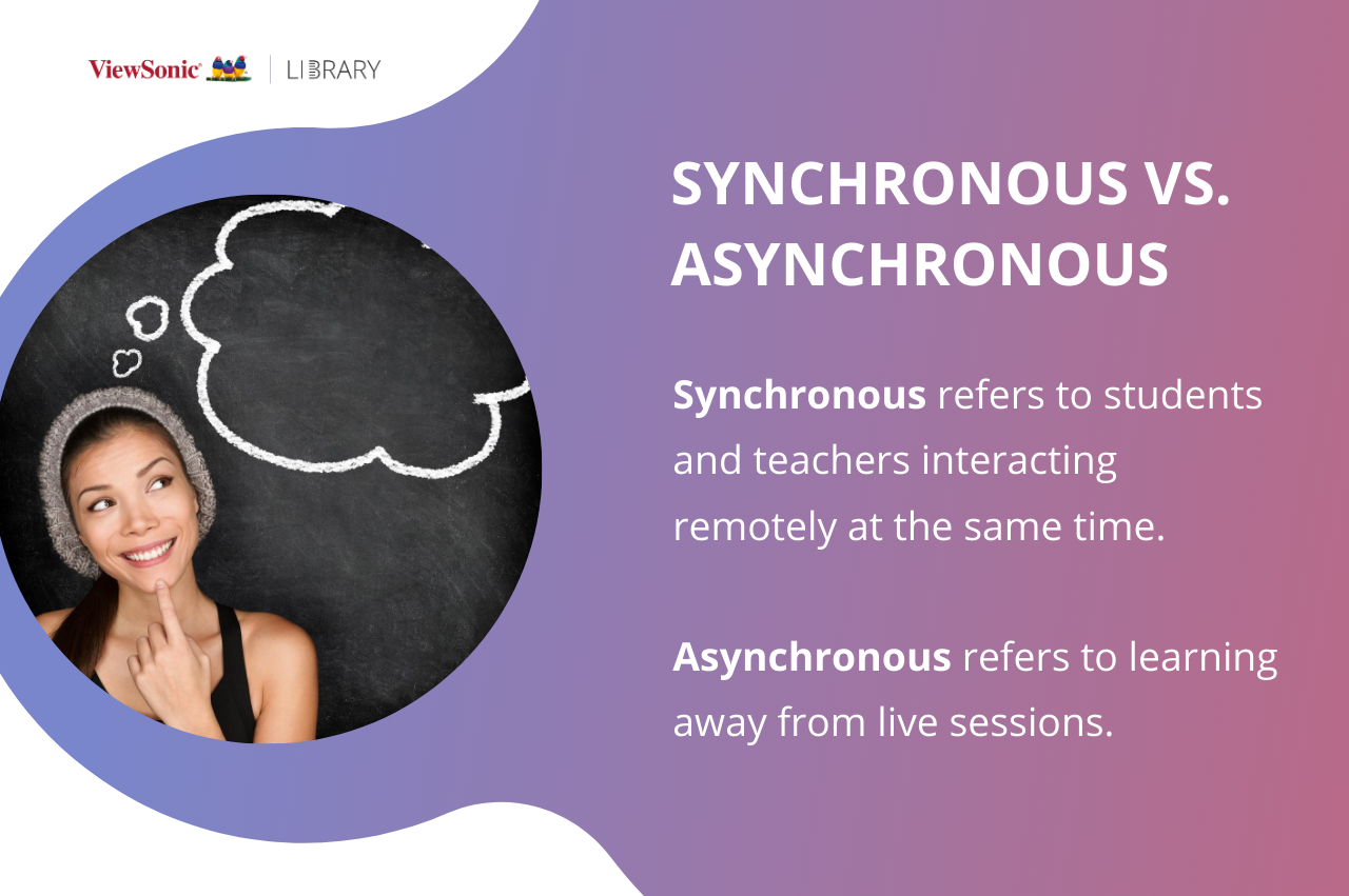 Understanding Distance Learning - Synchronous Vs. Asynchronous