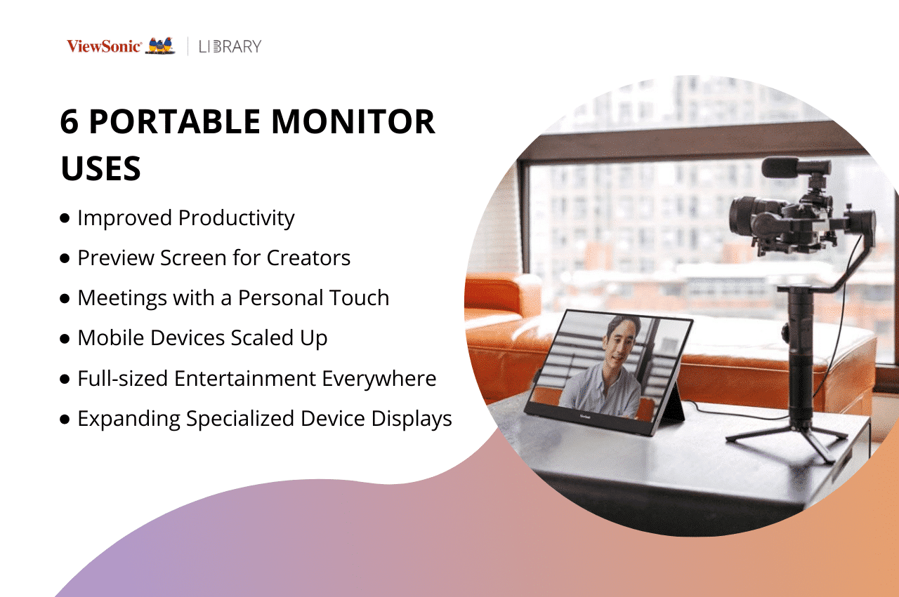 6 Portable Monitor Uses