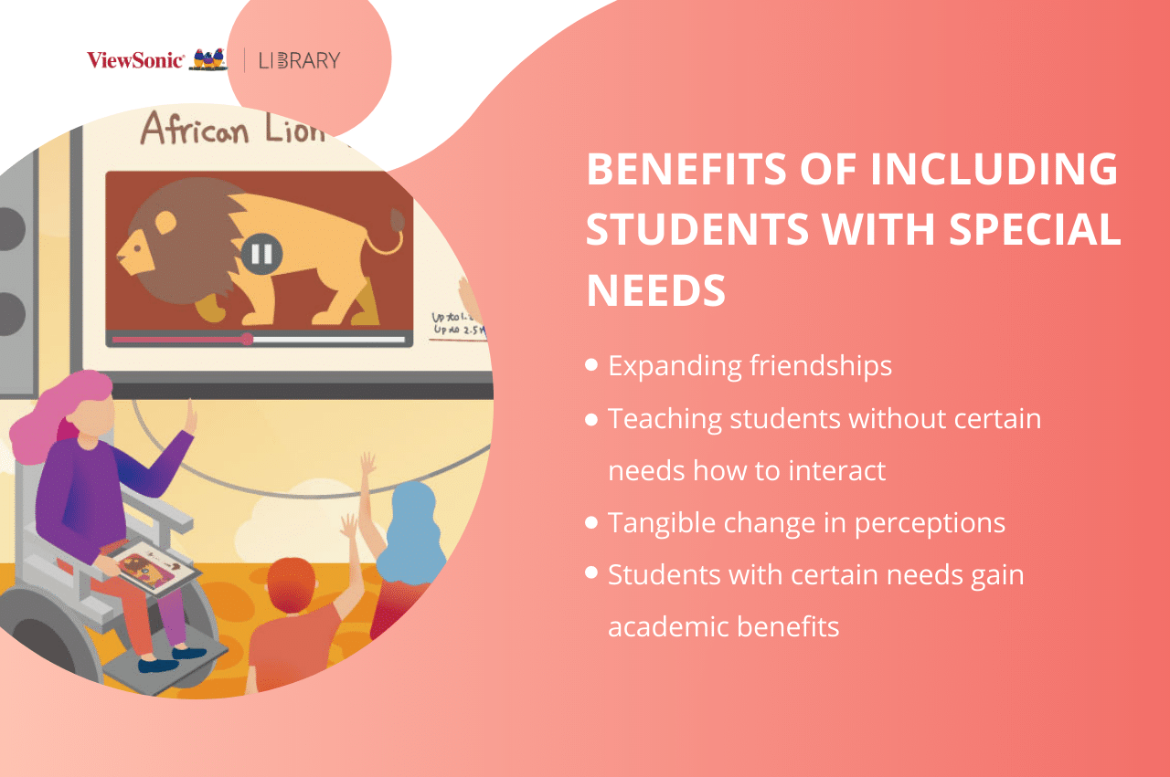 What is an inclusive classroom? special needs