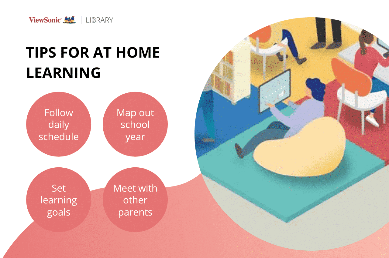 LB0189- TIPS FOR AT HOME LEARNING