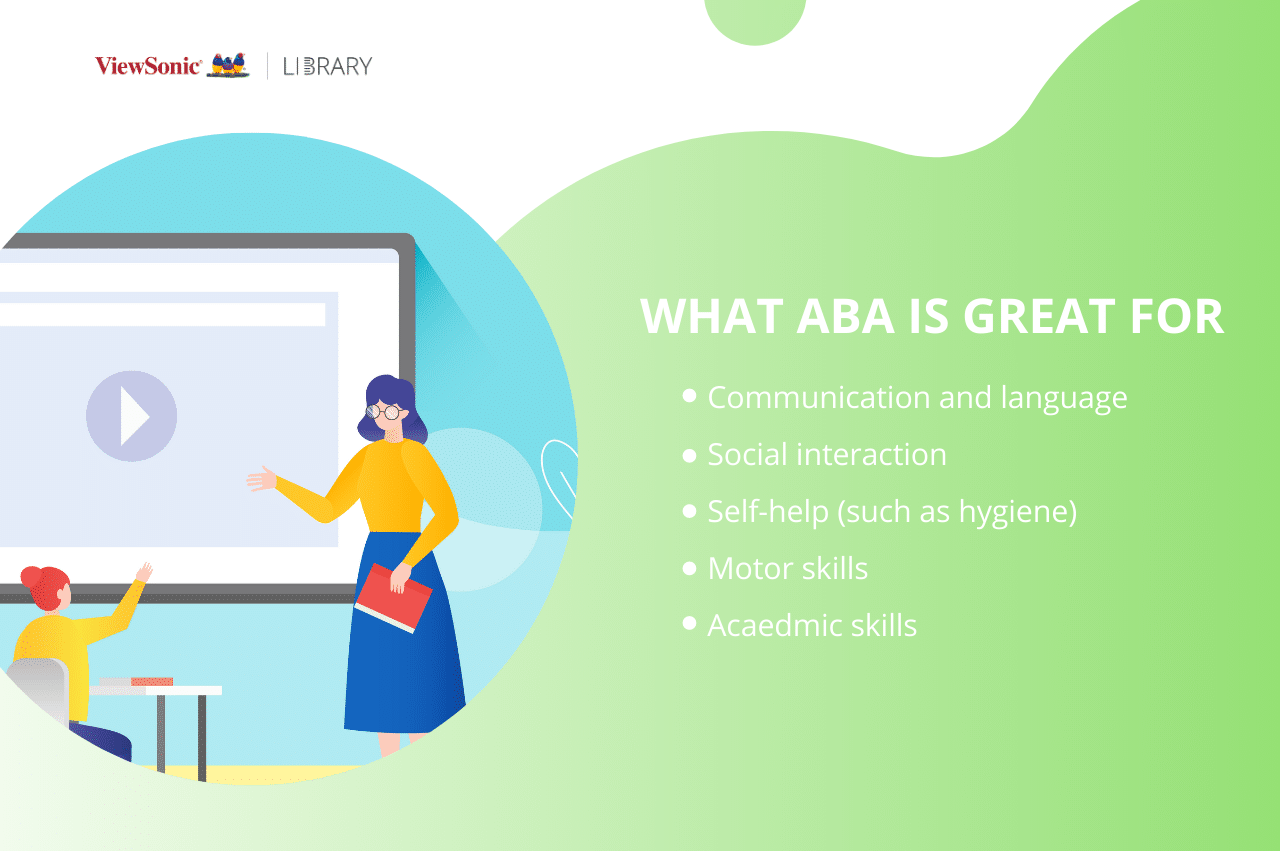 WHAT ABA IS GREAT FOR