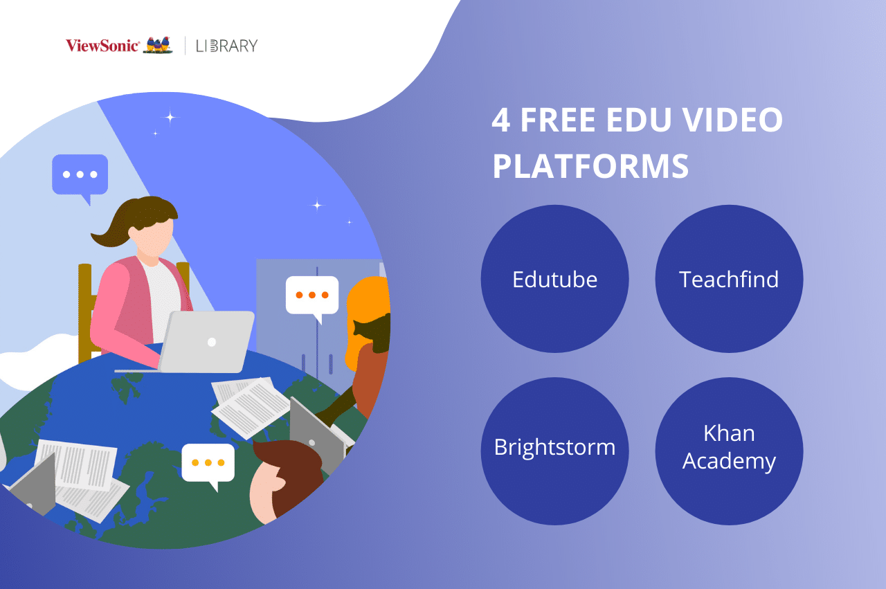 Video-assisted learning: using educational videos to teach - 4 free platforms