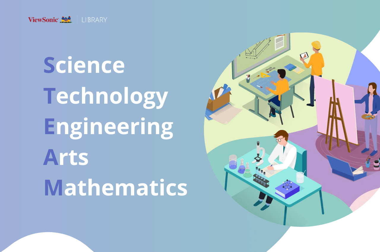 STEAM stands for science, technology, engineering, arts, mathematics