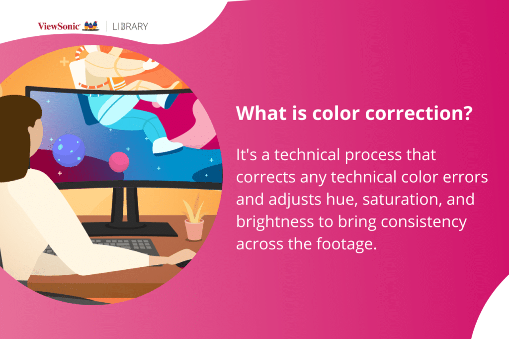 What is color correction
