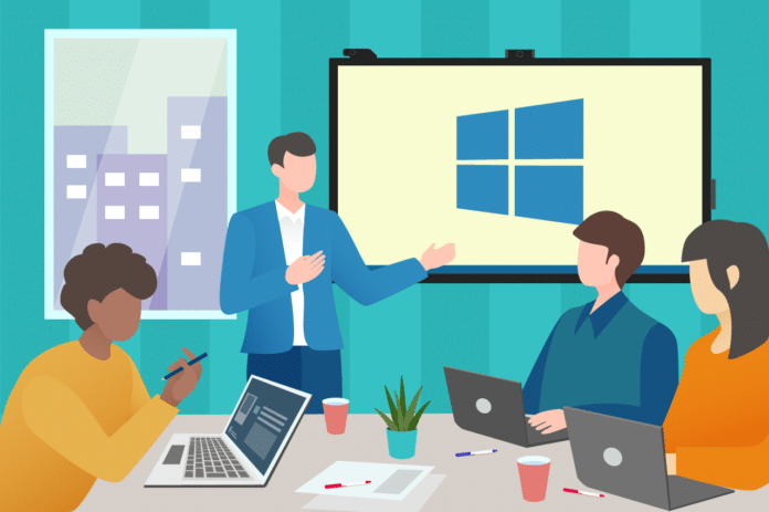 What Is a Windows Coillaboration Display?