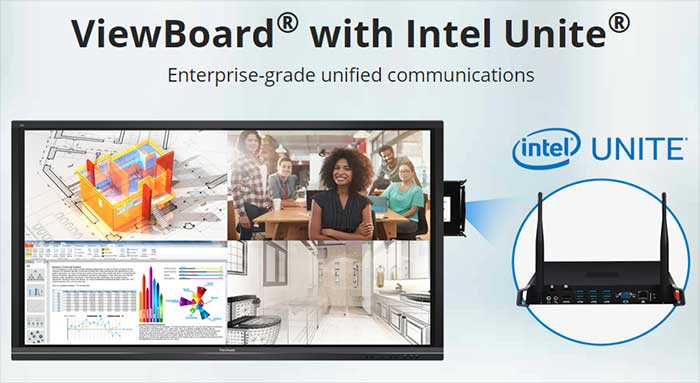 ViewBoard-with-Intel-Unite-for-Video-Conferencing-Solution