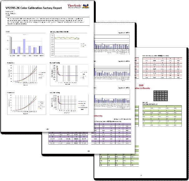 VP2785-2K Color report