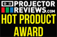 Projector Reviews Hot Product Award<br>PJD7822HDL