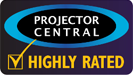 Highly Rated (PLED-W800) by Projector Central