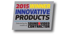 Sound & Video Contractor 2015 Innovative Products Awards <br>VP2780-4K
