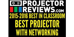 Projector Reviews Best in Classroom Projector with Networking<br>PJD6350