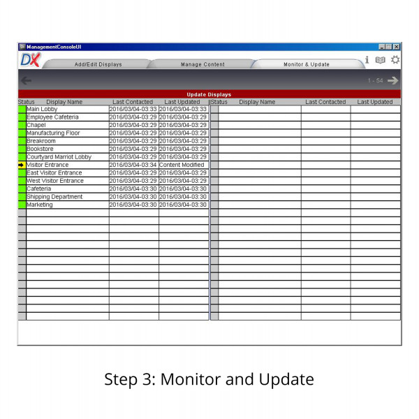 Displayit!Xpress Monitor and Update