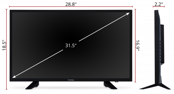 Viewsonic Cde3204 32 Full Hd Commercial Display