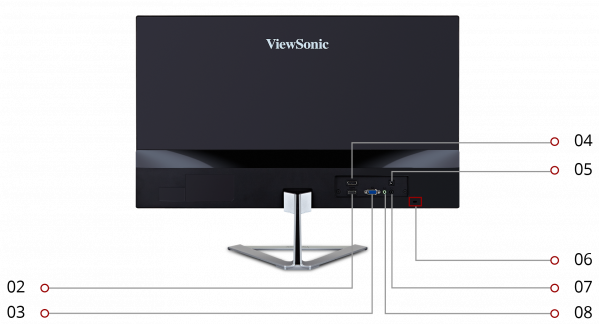 how to assemble viewsonic 2476 stand monitor