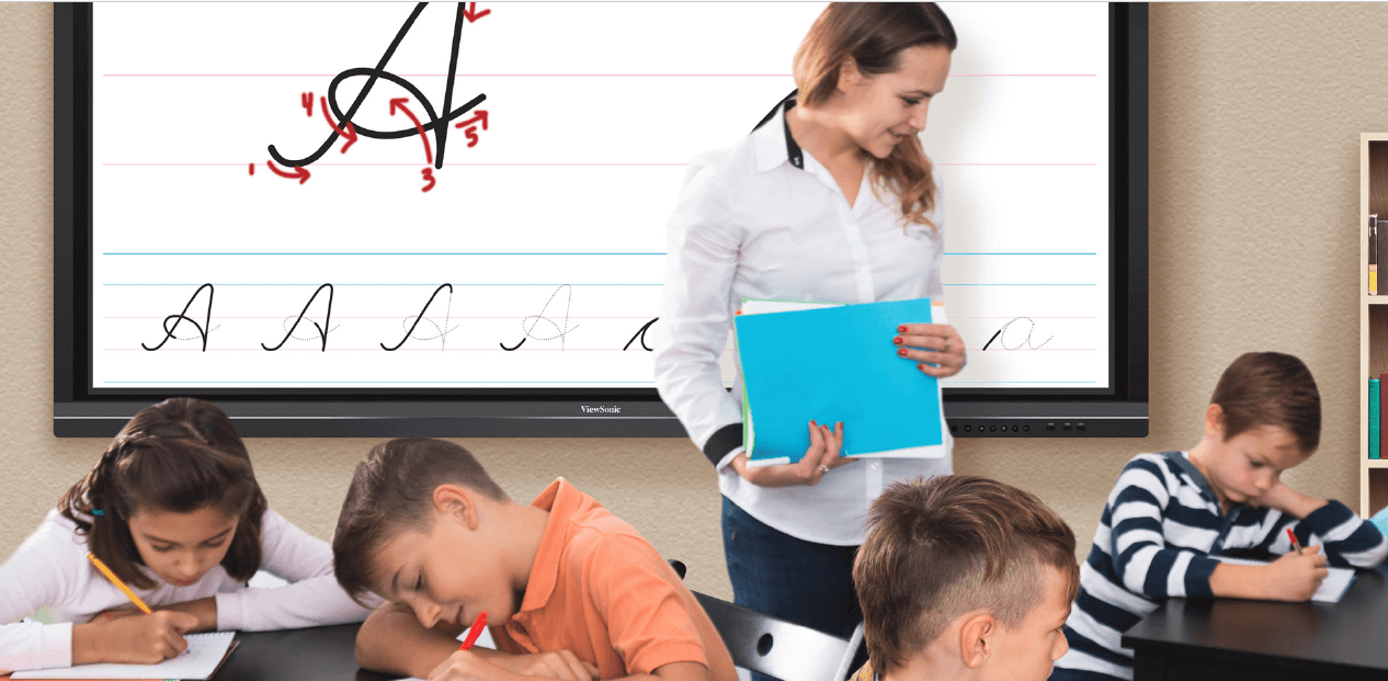 10 Ways Interactive Touch Screen Displays Improve Education
