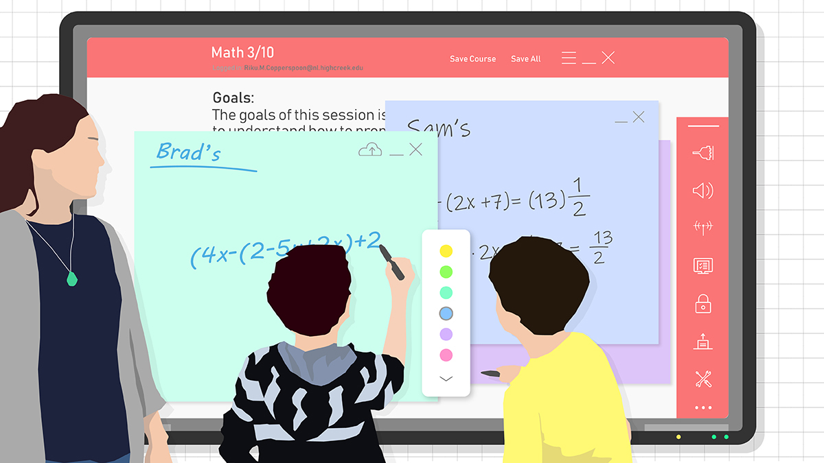 Online & Virtual Whiteboards - Thoughts from 3 Bett Speakers