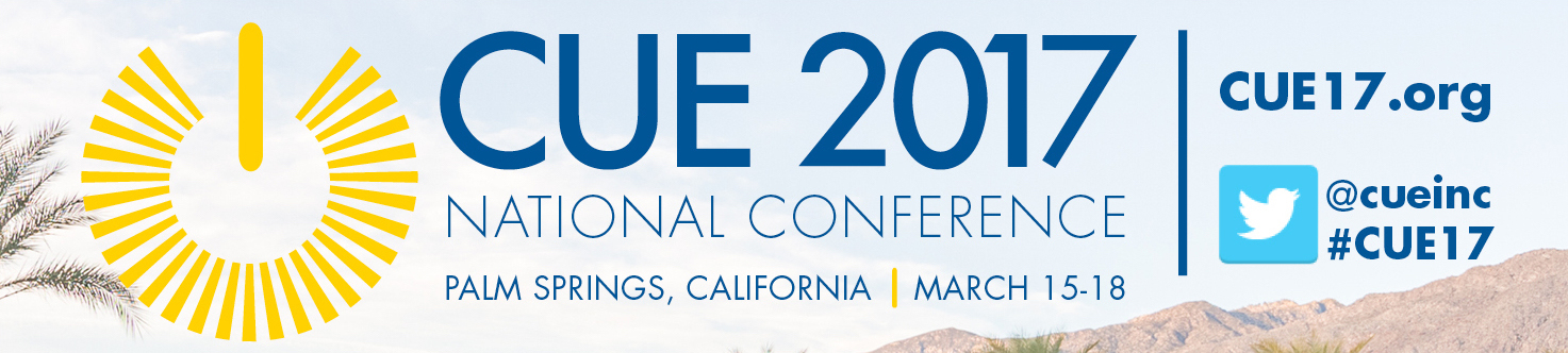 CUE National Conference 2017