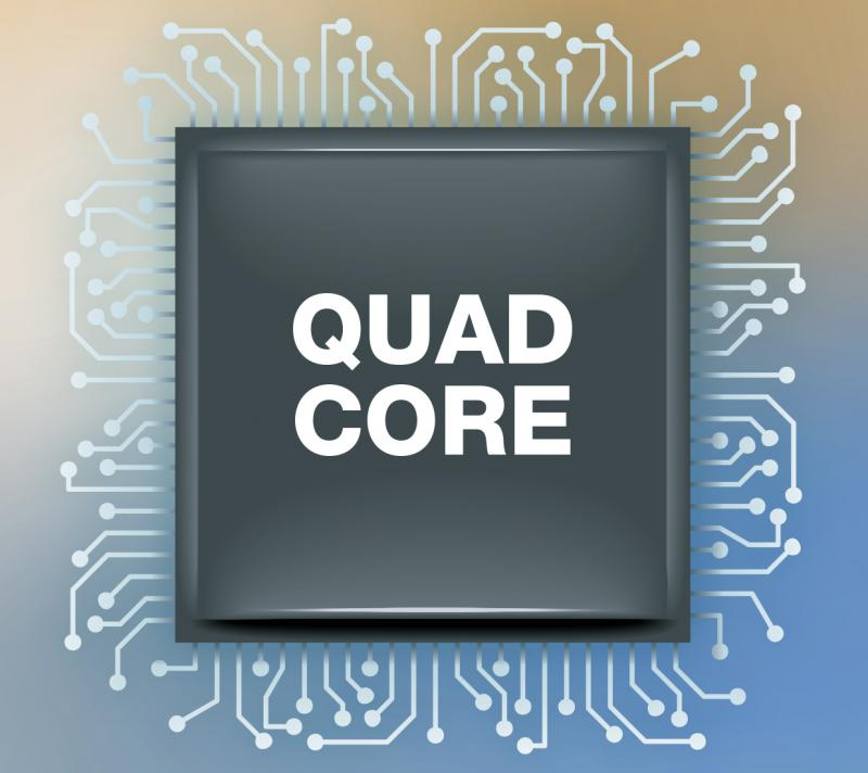 Powerful Quad Core Processor