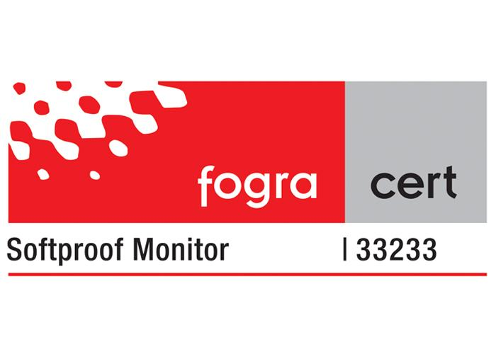 Fogra certified Softproof Monitor