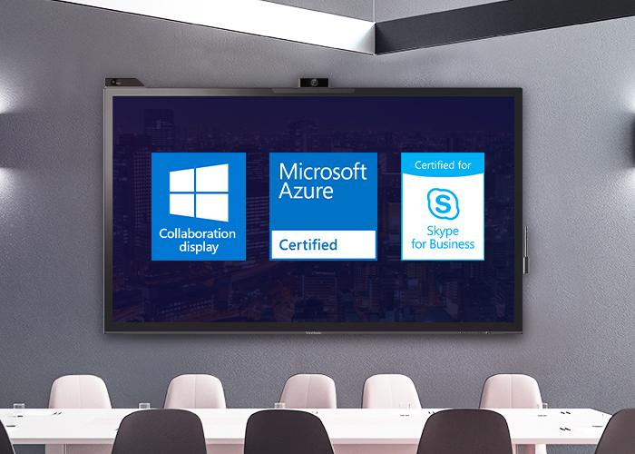 Microsoft-Certified Windows Collaboration Display