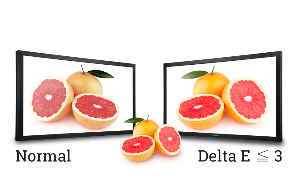 Delta E≤3 Color Accuracy