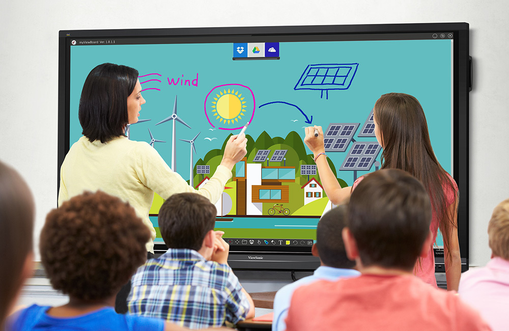 Interactive Touch Screen Displays Improve Education