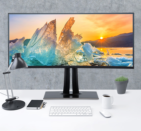 IPS Monitor with Wide Viewing Angles